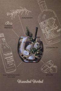 Hannibal Herbal Gin Rezept