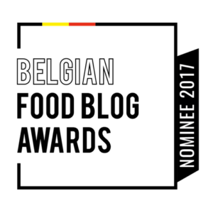 Belgian Food Blog Awards 2017 Nominee